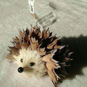 Brand new Pier I Sparkling Hedgehog ornaments